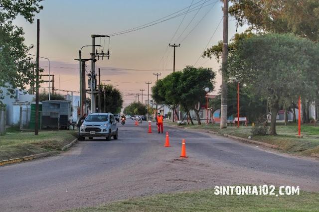 Control Sanitario Monte Maíz calle Chubut