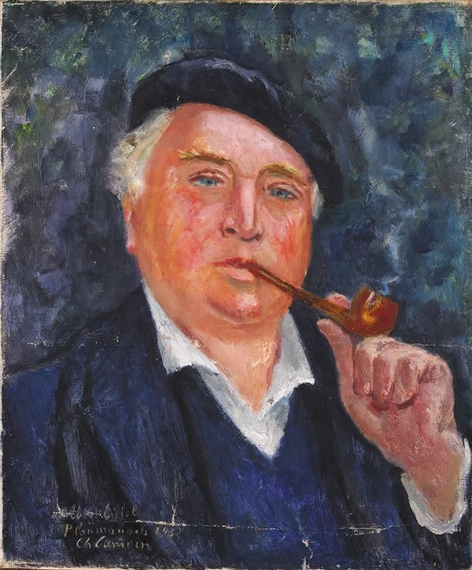 Charles Camoin - Portrait d'Albert Eiffel