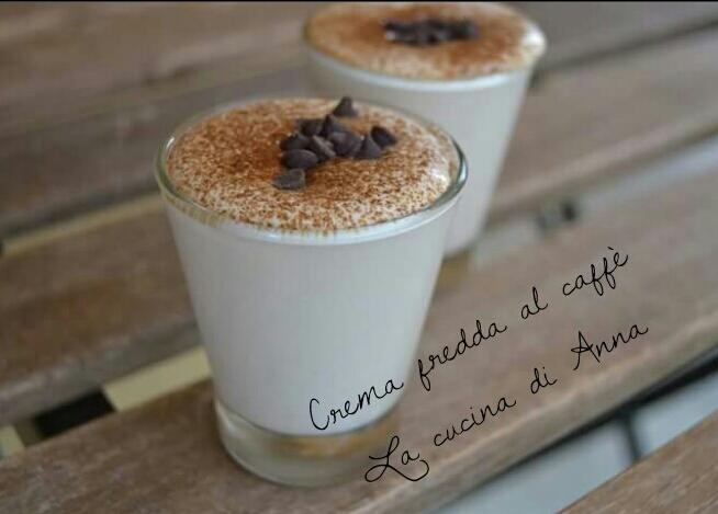La Cucina Di Anna Crema Fredda Al Caffè In Bottiglia