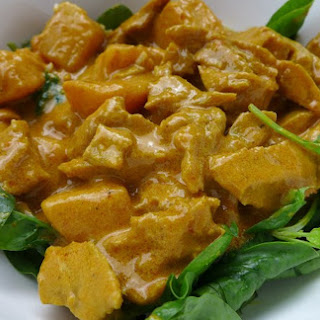 Thai Yellow Curry With Seitan and Potatoes [Vegan]
