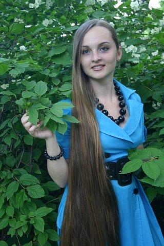 Real Beauty Female with long hair Alopecia or hair loss hair regrowth
