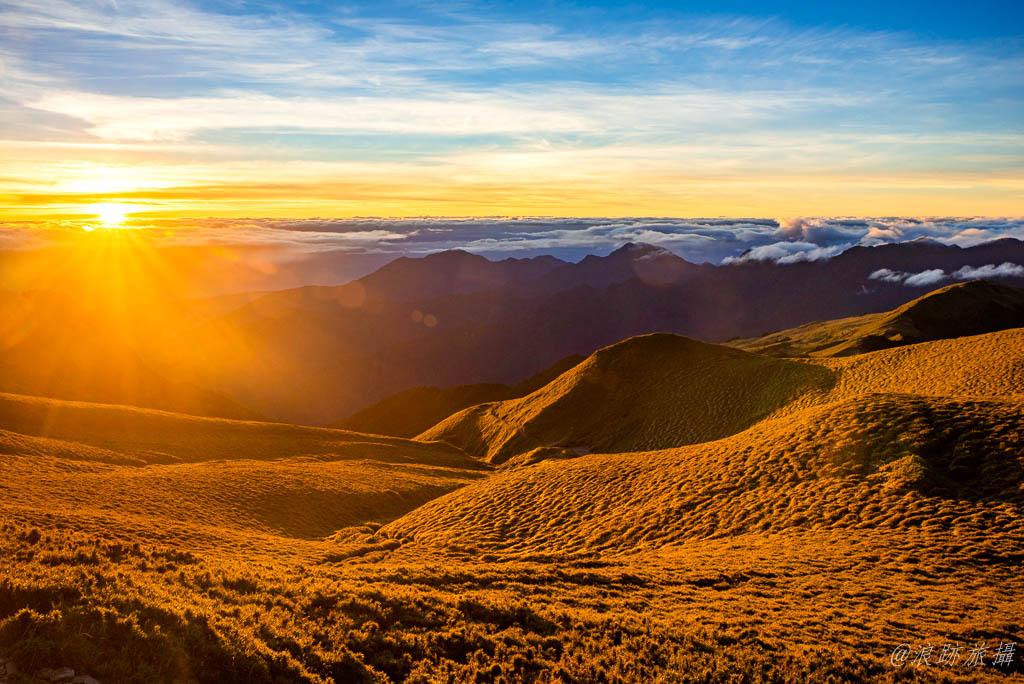 奇萊南華 奇萊南峰 黃金大草原