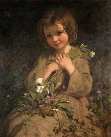 James Sant - Wild Flowers