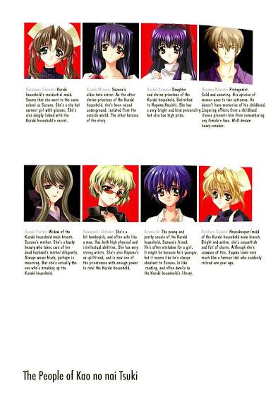 Kao no nai Tsuki Comic Chaper 1 & 2