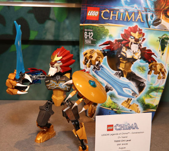 New York Toy Fair 2013: LEGO Legends Of Chima