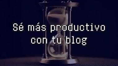Cómo dedicar más tiempo a tu blog