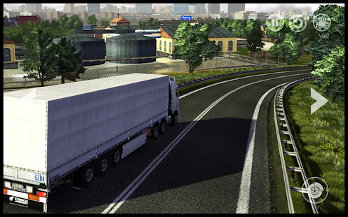 Euro Truck : Cargo Delivery Driving Simulator 3D - náhled
