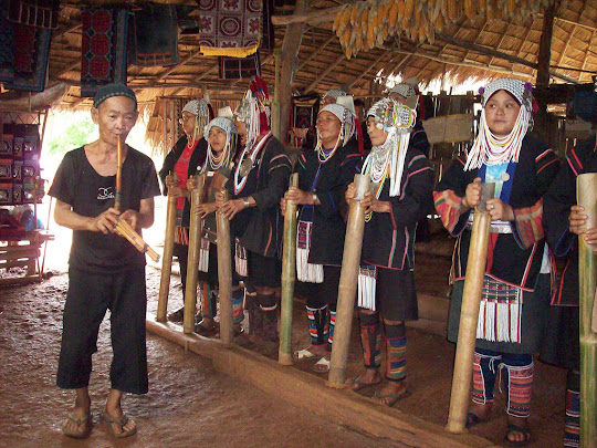 Hill Tribe Dancing