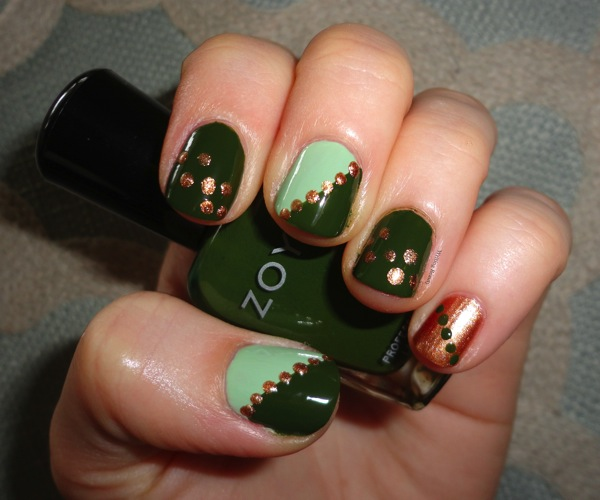 St Patrick s Patty s Day Nails 1