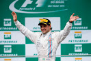 Felipe Massa on the podium at last in Brazil