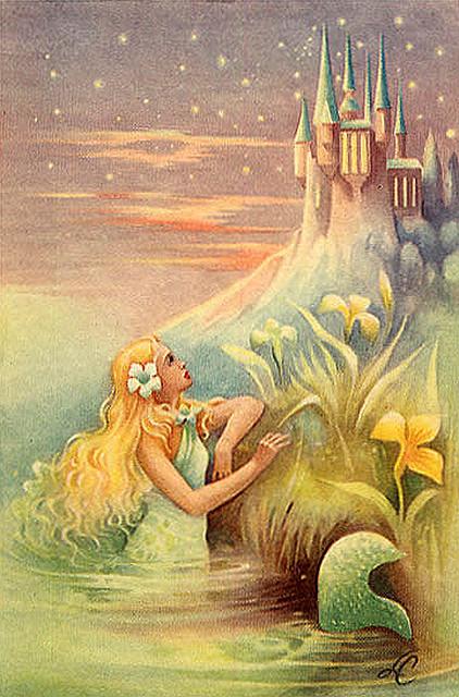 Mermaid And Castle, Mermaids