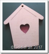 The Works Bird House embellishment