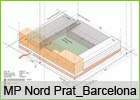EXTENSION PLAN EL PRAT NORD, BARCELONA.  International Restricted competition, Honorable Mention