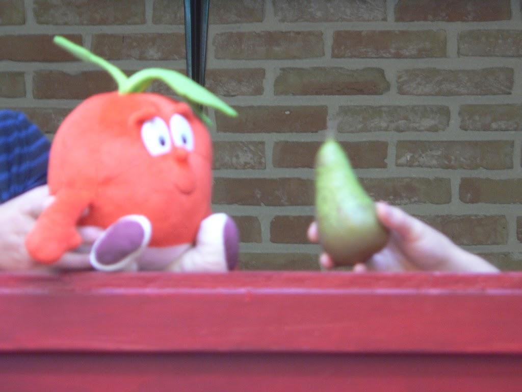 De Kleuters maken zelf een fruit- en groentewinkel. - P1260561.JPG