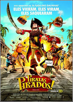 5 Piratas Pirados!   BDRip   Dual Áudio