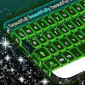 Color Keyboard Neon Green Free icon
