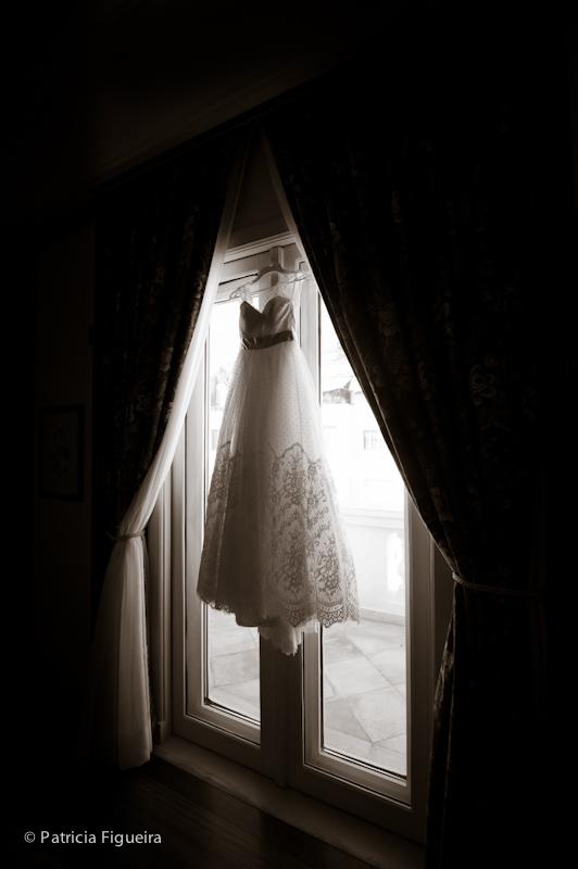 Foto de casamento 0005pb de Ana e Joao. Marcações: 29/10/2011, Casamento Ana e Joao, Fotos de Vestido, Lethicia Bronstein, Rio de Janeiro, Vestido, Vestido de Noiva.