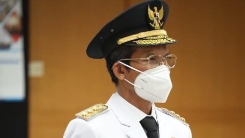 Foto Pj Gubernur Sumbar Hamdani Ketika Dilantik Mendagri.