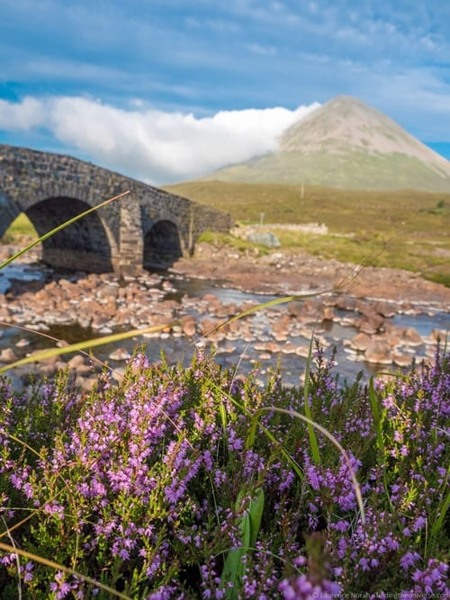 Sligachan Bridge View of Red Cuillins