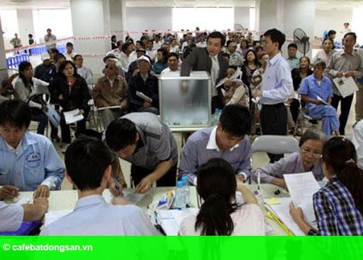 Hình 2: Căn hộ Hà Nội 600 triệu, ngàn người xếp hàng mua
