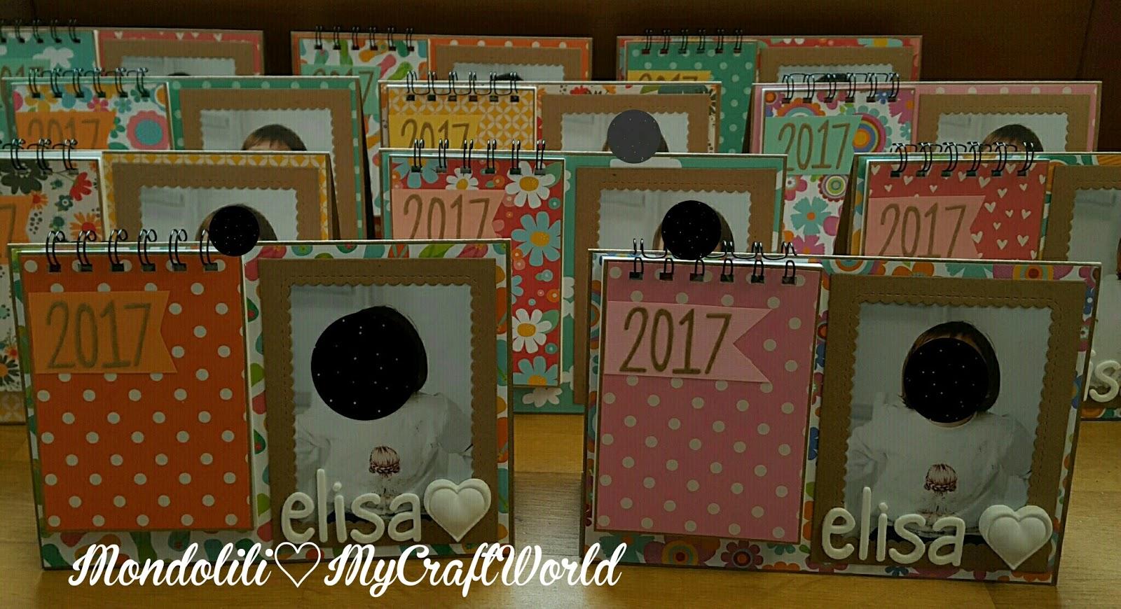 Mondolili calendari da tavolo con foto - Calendari da tavolo con foto ...