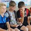Вручение формы юным футболистам