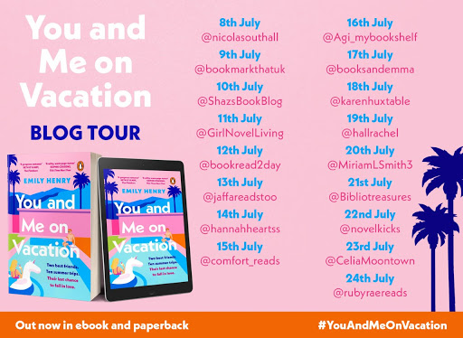 You and Me on Vacation Blog Tour