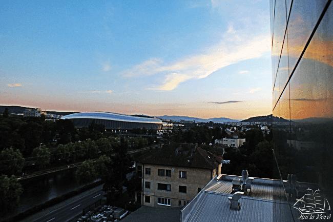 cluj arena apus panorama hotel napoca