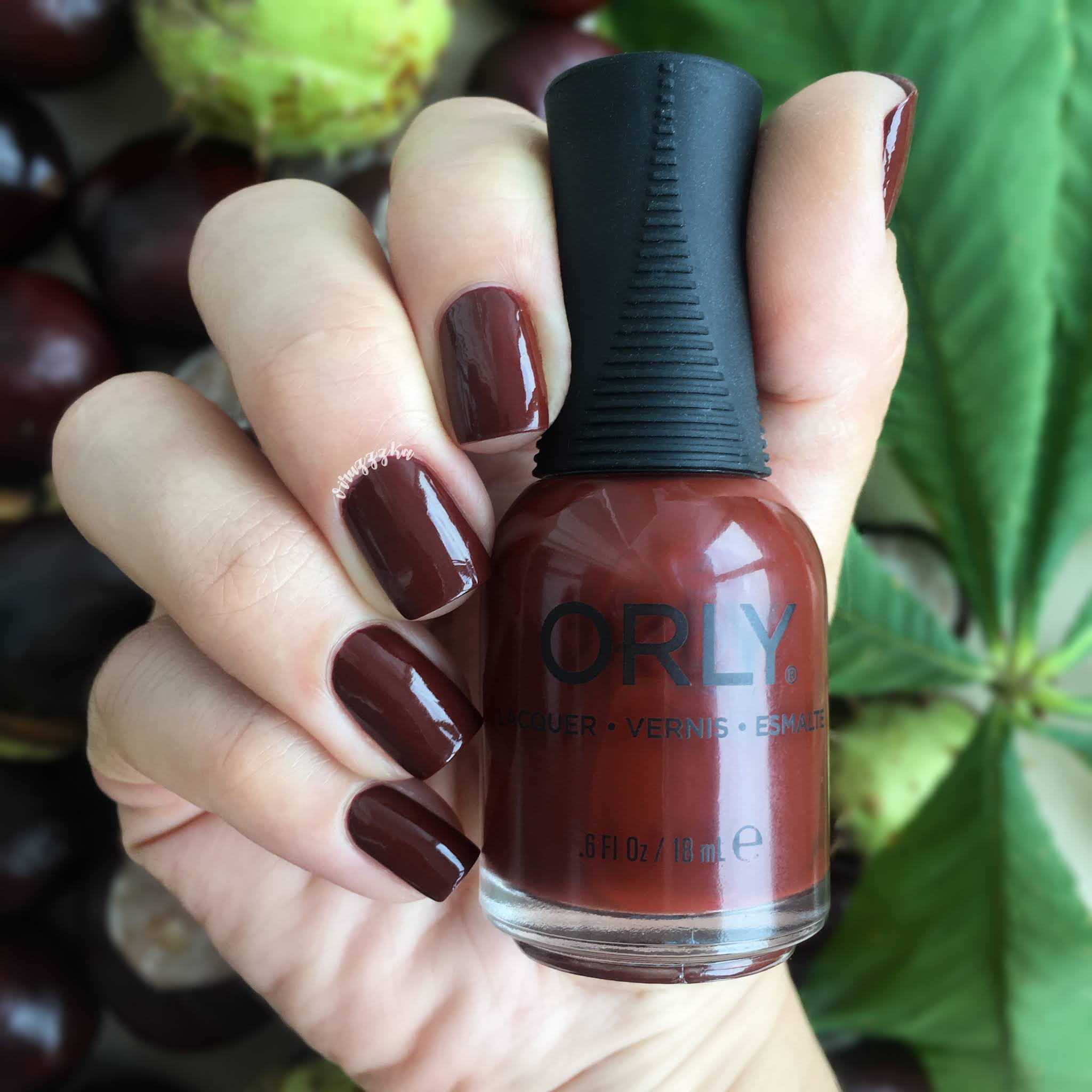 Orly Penny Leather Swatch Autumn Brown Nails Fall Autumn Nails