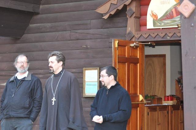 Alexis Liberovsky, Fr. David Cowan, Fr. Dn. John Diamantis.