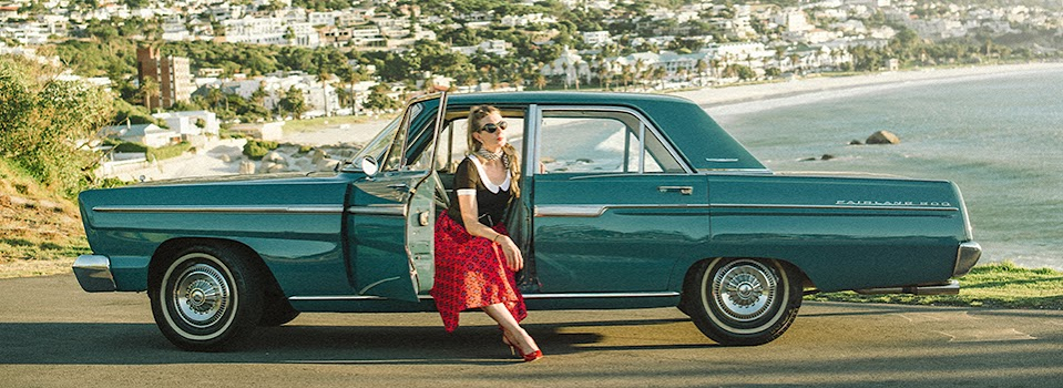 Michelle, Cape Town, South Africa – Ford Fairlane 500, 1965