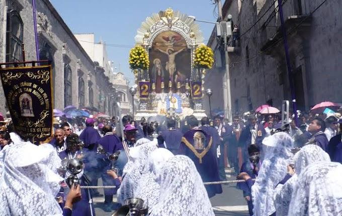 Actividades en honor al Señor de los Milagros en Arequipa, serán virtuales debido al COVID-19