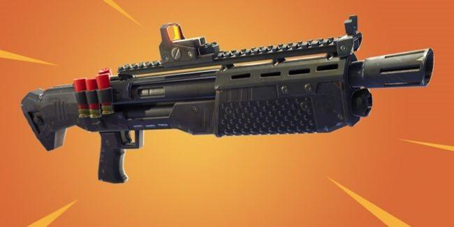 In Fortnite gibt es ab sofort Heavy Shotguns / Schwere Schrotflinten