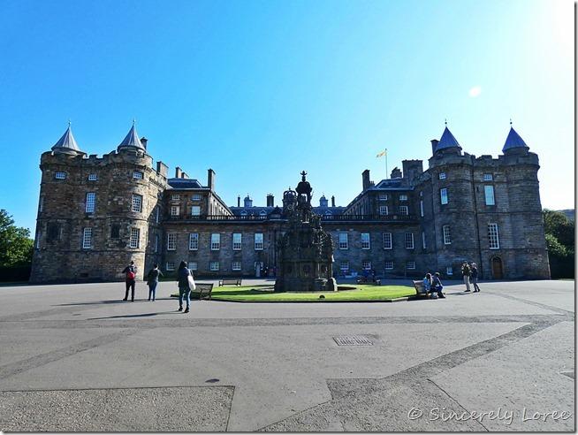 Palace of Holyrood House 1
