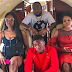 Levels don swell sha: So Cee C flew back to Lagos with Davido & Chioma in a private jet (Photos)