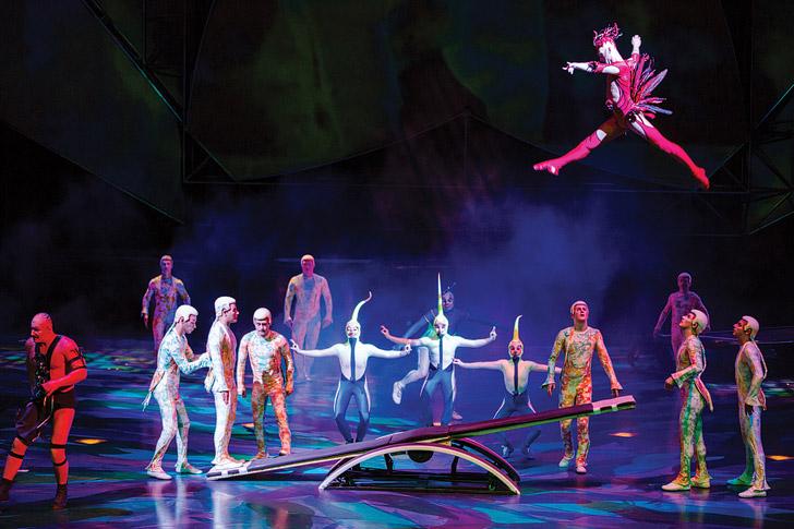 Las Vegas Cirque Du Soleil Mystere.