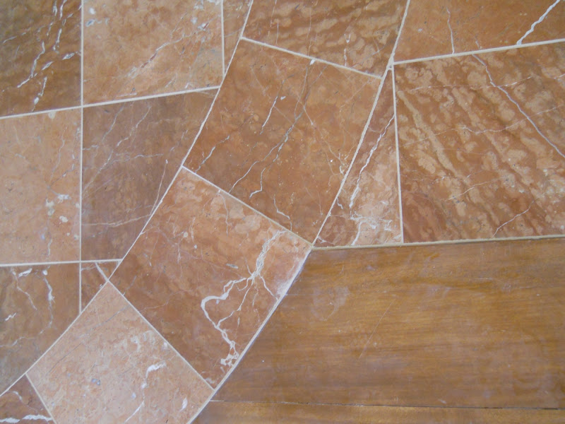 Marble tilework