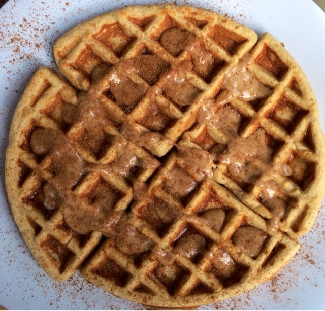 Pretty Little Feast: Peanut Butter Banana Waffles