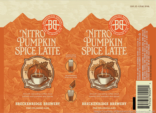 Breckenridge Brewery Nitro Pumpkin Spice Latte Returns In New Cans