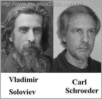 A reencarnação de Vladimir Soloviev como Carl Schroeder
