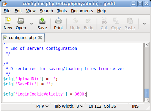 phpmyadmin/config.inc.php