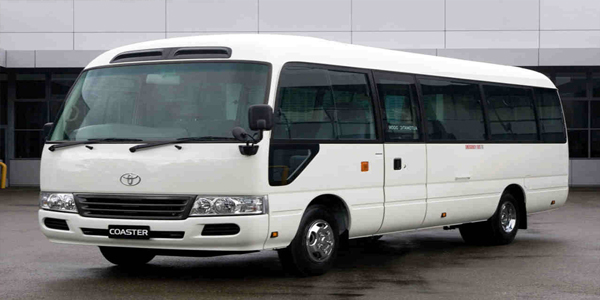 Luzviminda Travel and Tours: Cebu - Coaster For Rent (Toyota Coaster)