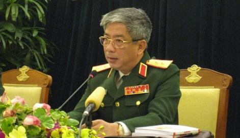 Trung tướng Nguyễn Chí Vịnh. Ảnh: N.H.