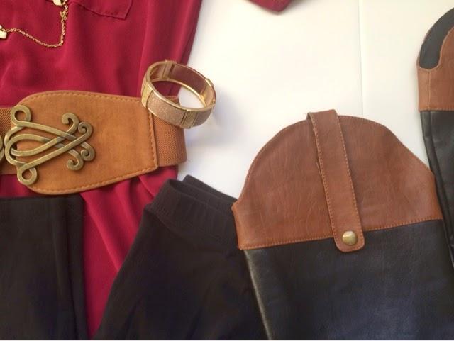 Boots, Belt, and Dress