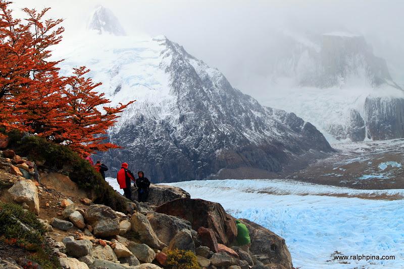 Above Glacier Grande