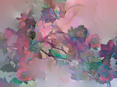 """The """"Dreaming of a Rose Garden"""" piece from the """"2013"""" collection"""