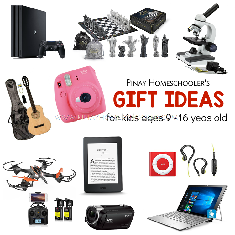 Montessori Friendly Gift Ideas for Tweens and Teens (2017)