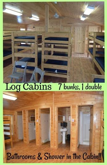 2017 - log cabins