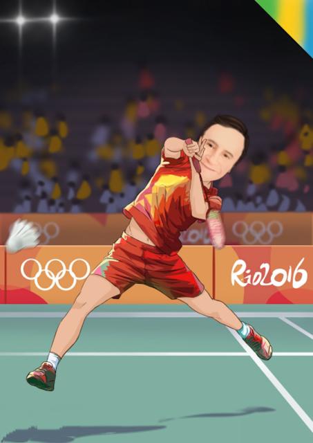 Badminton is cool