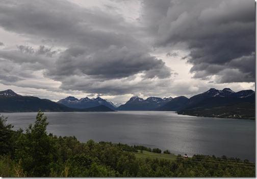 1 en quittant Tromso